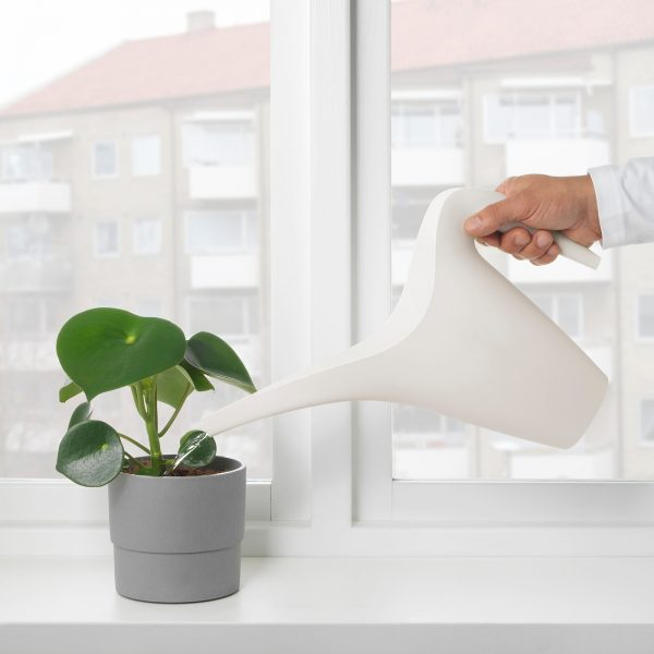 Watering Can Light Turquoise Blue 41oz Plants Indoor Outdoor IKEA PS 2002  *NEW*