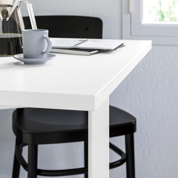 Norden Gateleg Table White Capstone Couriers